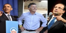 Obama, Macri y Hollande