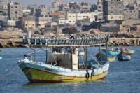 Puerto de pescadores de Gaza
