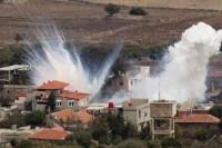Fuego en Altos del Golán