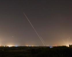 Misil lanzado desde Gaza